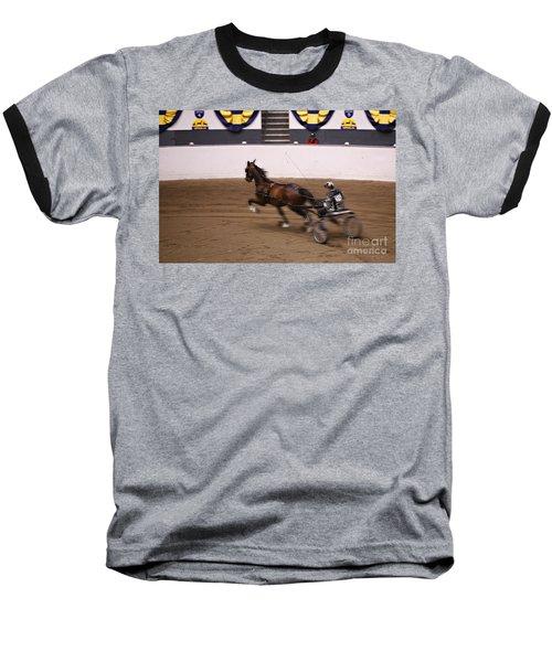 Baseball T-Shirt featuring the photograph Road Pony At Speed by Carol Lynn Coronios