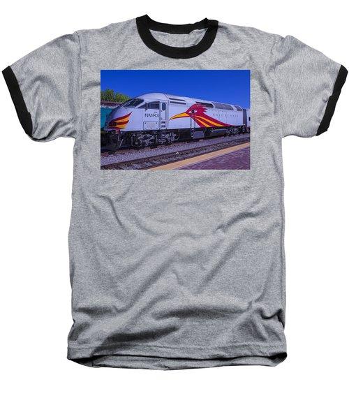 Road Runner Express Train Baseball T-Shirt