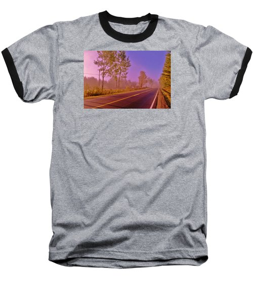Baseball T-Shirt featuring the photograph Road To... by Daniel Thompson