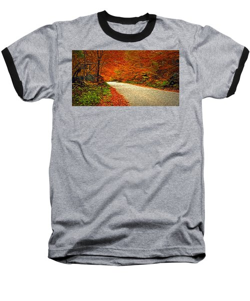 Road To Nowhere Baseball T-Shirt by Bill Howard