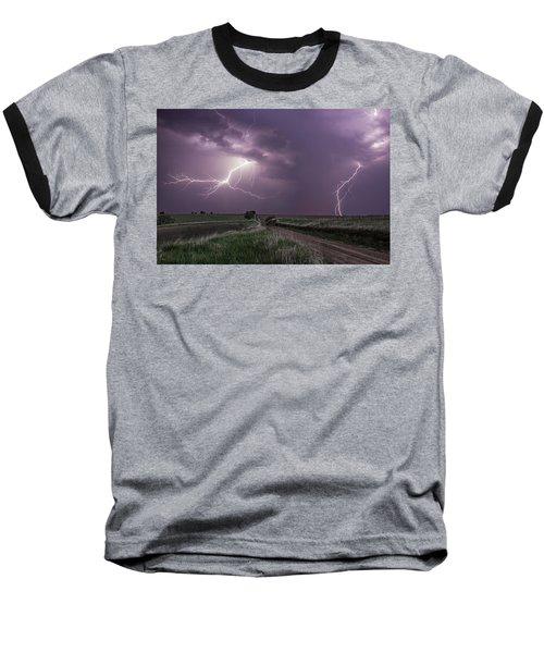 Road To Nowhere - Lightning Baseball T-Shirt