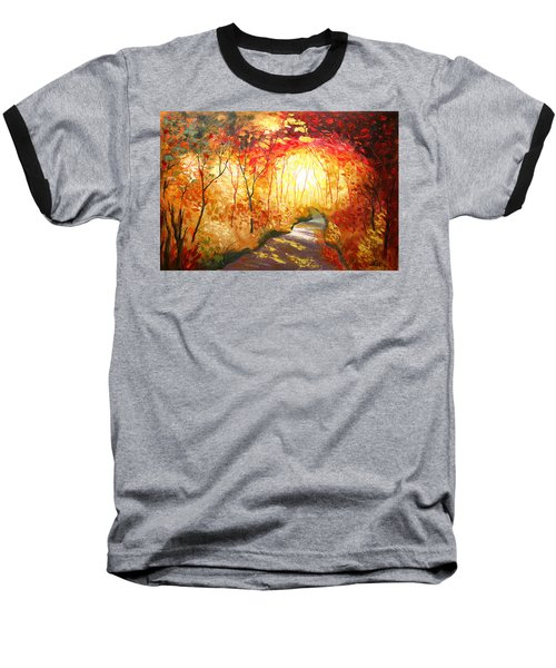 Road To The Sun Baseball T-Shirt