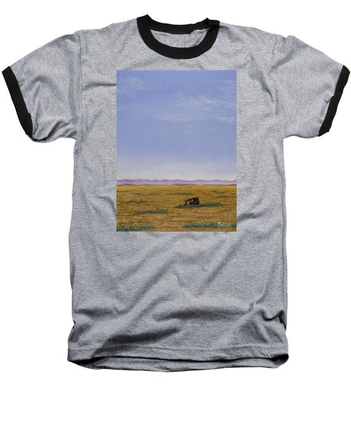 Roadside Attraction Baseball T-Shirt by Jack Malloch