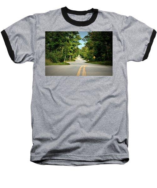 Roadway Slalom Baseball T-Shirt
