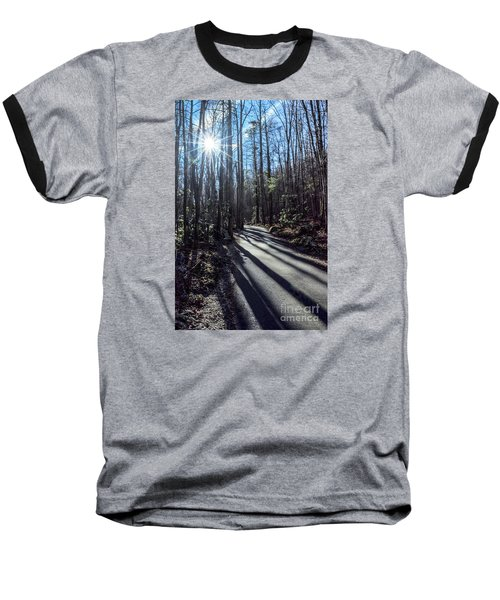 Baseball T-Shirt featuring the photograph Roaring Fork Road by Debbie Green