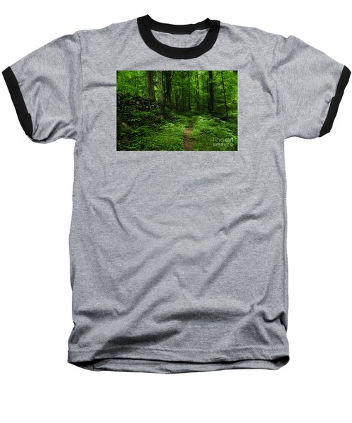 Baseball T-Shirt featuring the photograph Roaring Fork Trail by Debbie Green