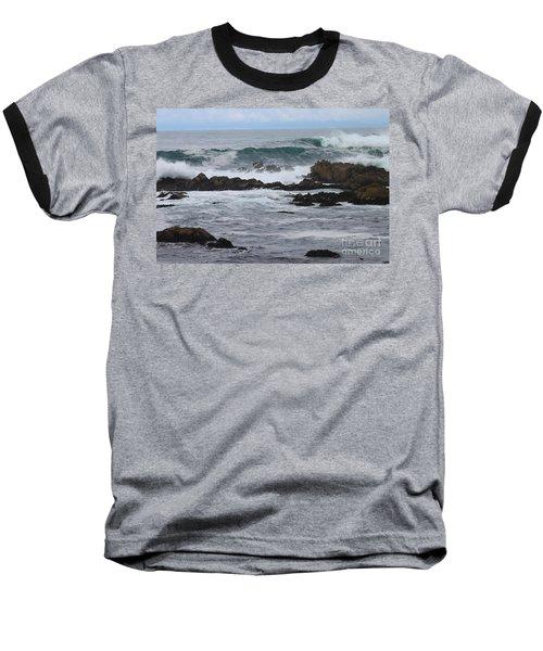 Roaring Sea Baseball T-Shirt