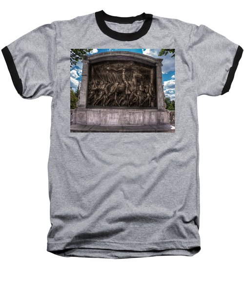 Robert Gould Shaw Memorial On Boston Common Baseball T-Shirt
