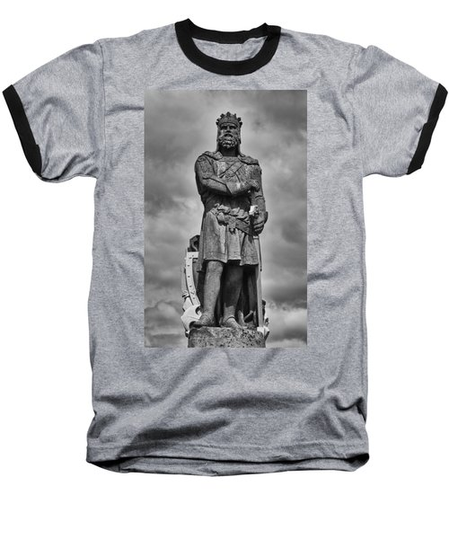 Robert The Bruce Baseball T-Shirt by Eunice Gibb