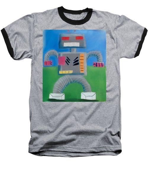 Metallic Baseball T-Shirt by Joshua Maddison