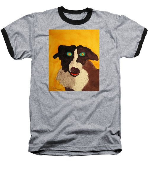 Baseball T-Shirt featuring the painting The Storyteller by Rand Swift