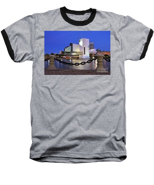 Rock And Roll Hall Of Fame - Cleveland Ohio - 1 Baseball T-Shirt