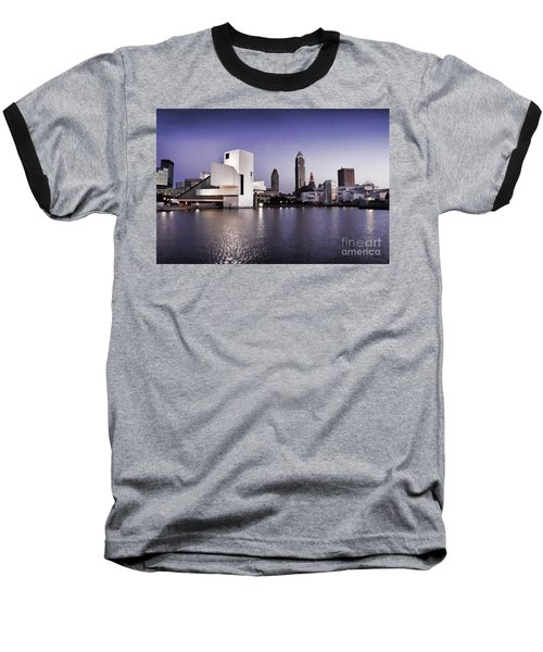 Rock And Roll Hall Of Fame - Cleveland Ohio - 2 Baseball T-Shirt