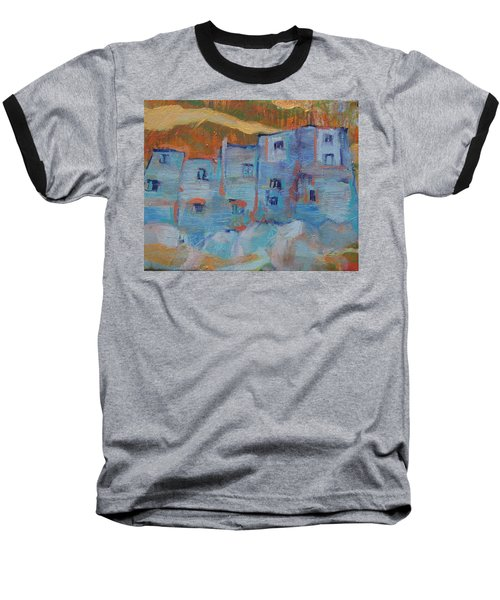 Rock City Abstract Baseball T-Shirt
