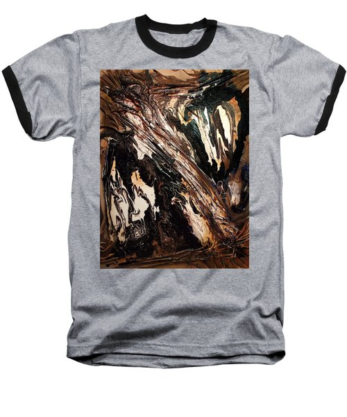 Rock Formation 1 Baseball T-Shirt