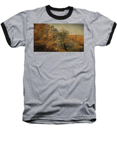 Rock Formation Baseball T-Shirt
