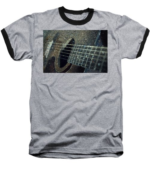 Rock Guitar Baseball T-Shirt