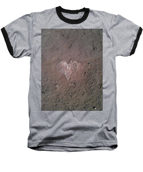 Rock Heart Baseball T-Shirt