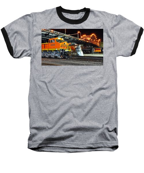 Rock Island Train Festival 2011 Baseball T-Shirt