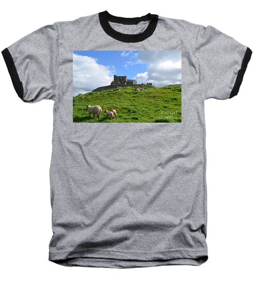 Rock Of Cashel In The Distance Baseball T-Shirt