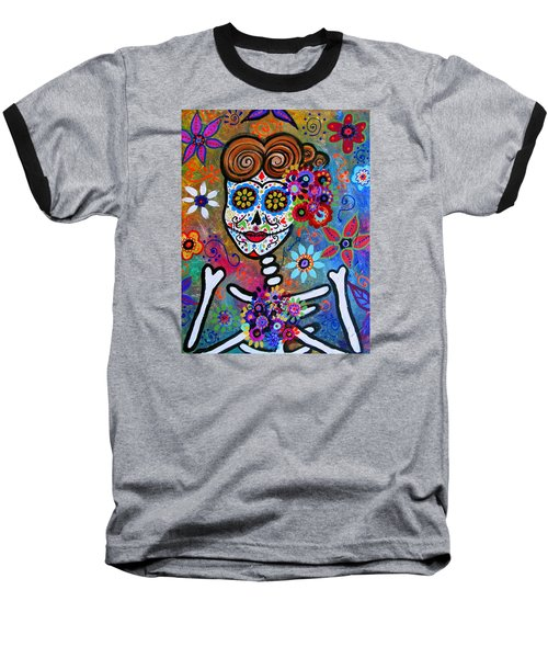 Rockabilly Frida Baseball T-Shirt