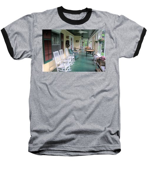 Rockers On The Porch Baseball T-Shirt