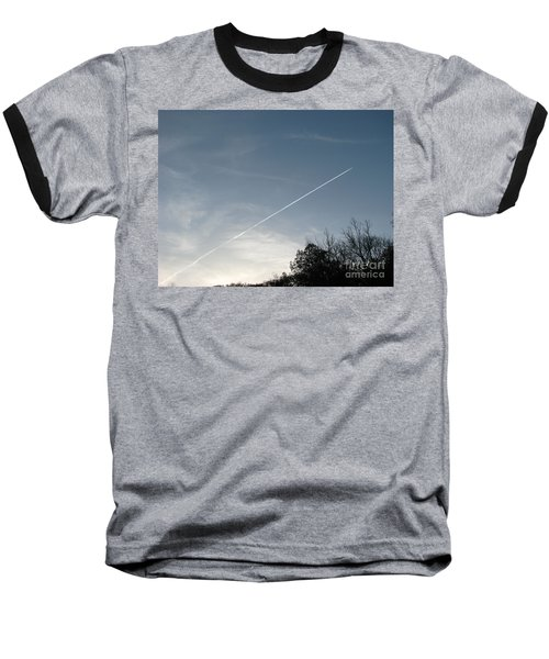 Baseball T-Shirt featuring the photograph Rocket To The Stars by Michael Krek