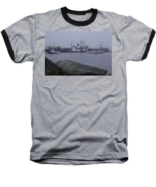 Baseball T-Shirt featuring the photograph Rockland Me by Daniel Hebard