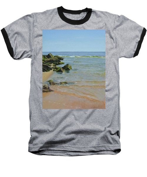 Rocks And Shallows Baseball T-Shirt