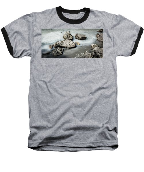 Rocks In The River Baseball T-Shirt