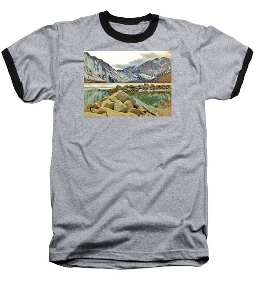 Baseball T-Shirt featuring the photograph Rocks by Marilyn Diaz