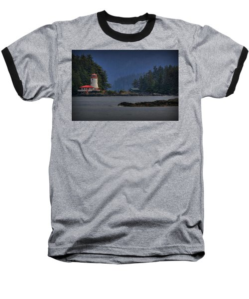 Rockwell Lighthouse Sitka Alaska Baseball T-Shirt