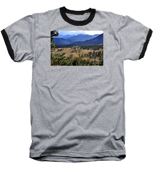 Baseball T-Shirt featuring the photograph Rocky Mountain Evening by Nava Thompson