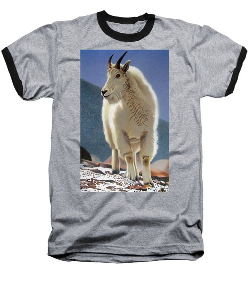 Rocky Mountain Goat Baseball T-Shirt