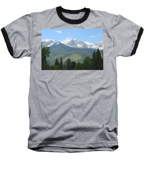 Rocky Mountain National Park - 2 Baseball T-Shirt