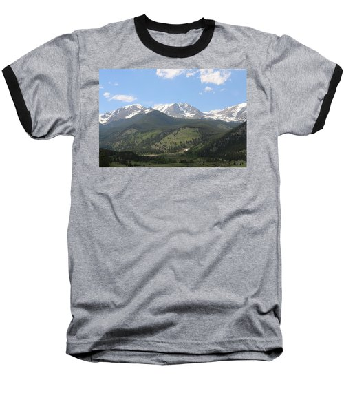 Rocky Mountain National Park - 3  Baseball T-Shirt