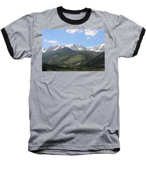 Rocky Mountain National Park - 3  Baseball T-Shirt