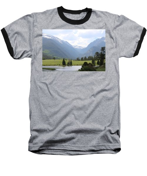 Rocky Mountain National Park  Baseball T-Shirt