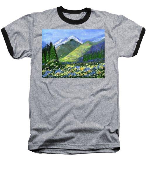 Rocky Mountain Spring Baseball T-Shirt