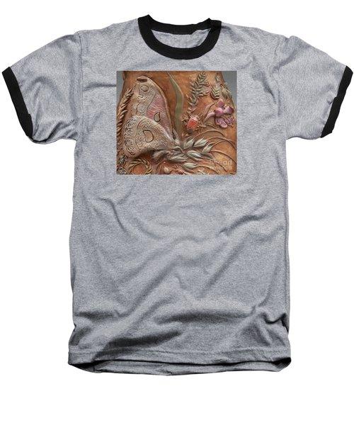 Rocky Mountain Summer - Detail Baseball T-Shirt by Dawn Senior-Trask