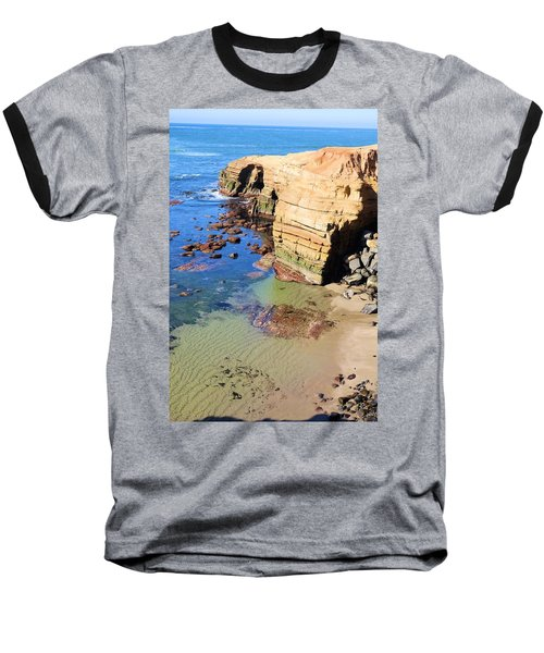 Rocky Point Sunset Cliffs Baseball T-Shirt