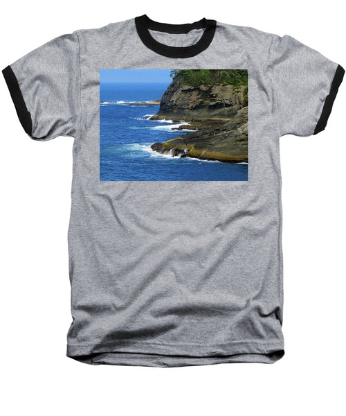 Baseball T-Shirt featuring the photograph Rocky Shores by Tikvah's Hope