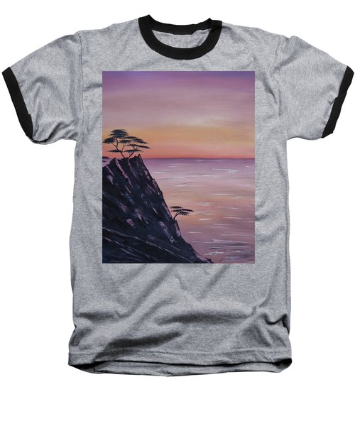 Rocky Sunset Baseball T-Shirt