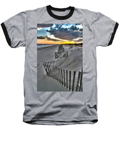 Rogers Beach First Day Of Spring 2014 Baseball T-Shirt