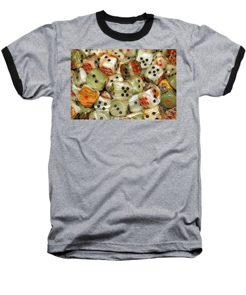 Roll The Dice Baseball T-Shirt