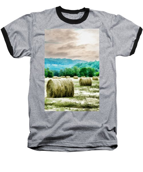 Rolled Bales Baseball T-Shirt