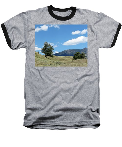 Baseball T-Shirt featuring the photograph Rolling Hills by Laurel Powell