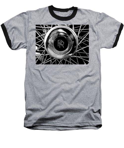 Rolls Royce - Black And White Baseball T-Shirt