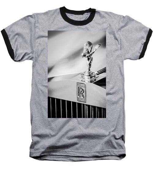 Rolls-royce Hood Ornament -782bw Baseball T-Shirt