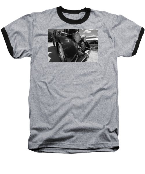 Baseball T-Shirt featuring the photograph Rolls Royce Station Wagon by John Schneider